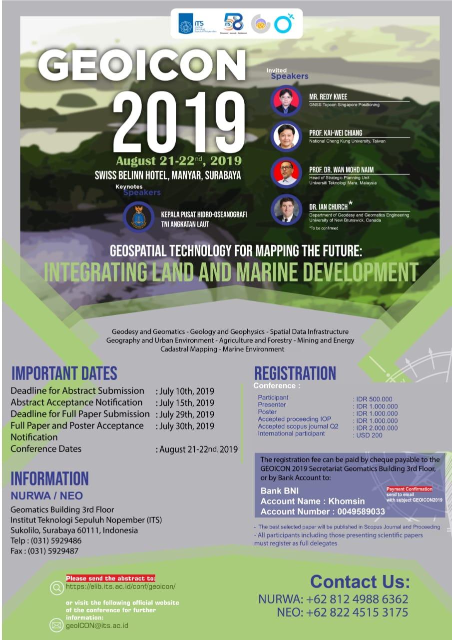 GeoICON – Geomatics International Conference